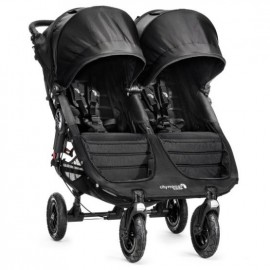 Baby Jogger Kočík City Mini double GT BLACK/BLACK