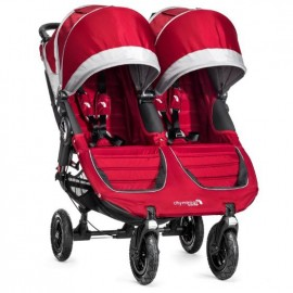 Baby Jogger Kočík City Mini double GT CRIMSON/GRAY