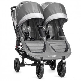 Baby Jogger Kočík City Mini double GT STEEL GRAY
