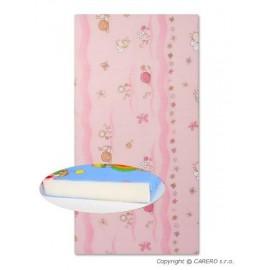 DANPOL Penový matrac (ružový) s obrázkami