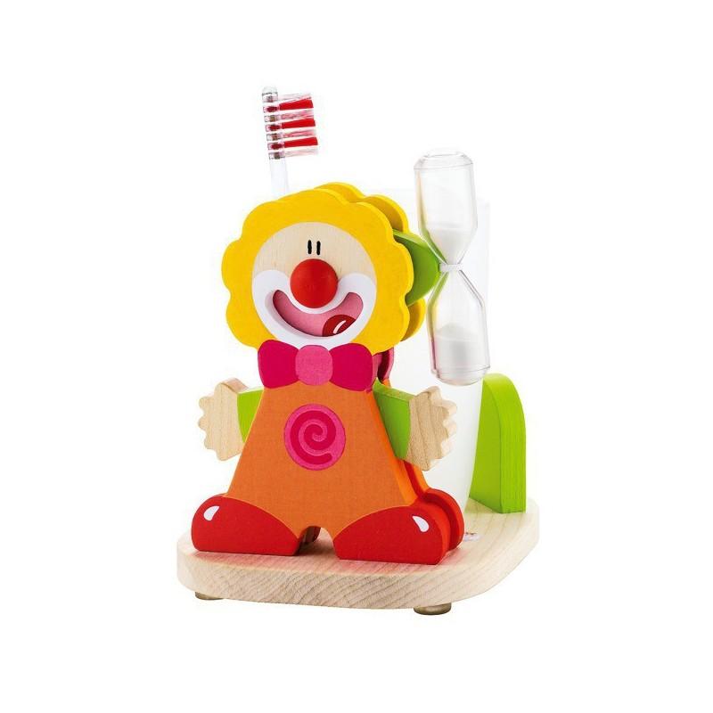 SEVI Set na umývanie zúbkov - Klaun červený