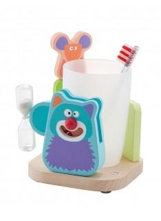 SEVI Set na umývanie zúbkov - Mačka a myš