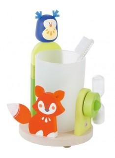 SEVI Set na umývanie zúbkov - Líška a sova