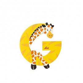 SEVI Písmenko G - Zvieratko