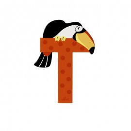 SEVI Písmenko T - Zvieratko