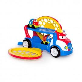 Hračka ťahač Grumpy + 2 autíčka Dave a Danny Oball Go Grippers™ 18m+