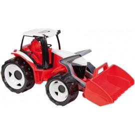 Lena Traktor s lyžicou červeno-biely