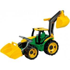 Lena Traktor s lyžicou a bagrom zeleno-žltý