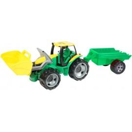 Lena Traktor s lyžicou a prívesom