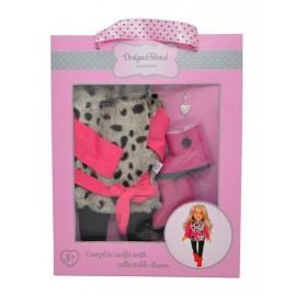 Mac Toys Zimná súprava pre bábiky design