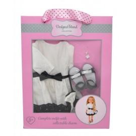 Mac Toys Spoločenské šaty pre bábiky design