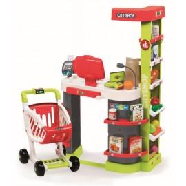 Simba Toys Obchod City Shop červeno-zelený