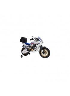 Detská motorka na akumulátor INJUSA Honda Africa biela 6V