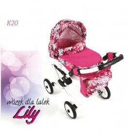 Kočík pre bábiky Adbor Lily K20