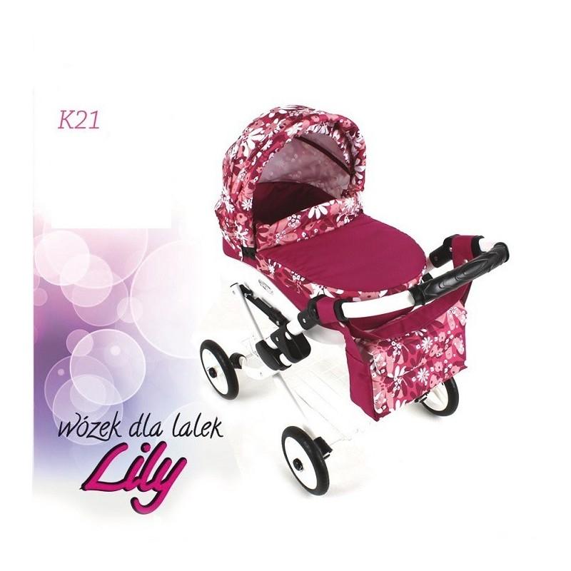 Kočík pre bábiky Adbor Lily K21