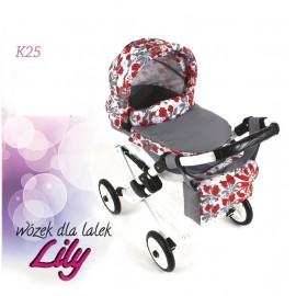 Kočík pre bábiky Adbor Lily K25