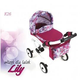 Kočík pre bábiky Adbor Lily K26