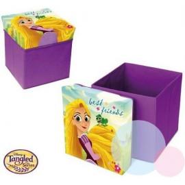 Disney Taburetka s úložným priestorom Princezná na vlásku