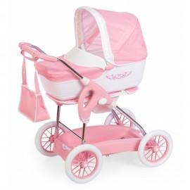 Smoby Multifunkčný kočík pre bábiky Maxi Cosi Iglesina ružový