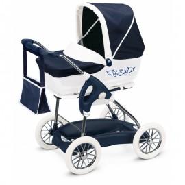 Smoby Multifunkčný kočík pre bábiky Maxi Cosi Iglesina modrý