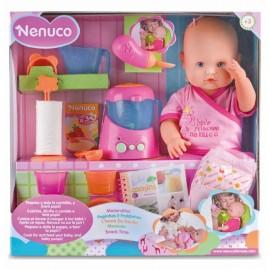 Interaktívna bábika Nenuco Čas na kŕmenie