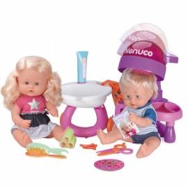 Kadernícky salón Nenuco s bábikami