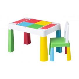 Stôl so stoličkou Tega Baby Multifun Multicolor