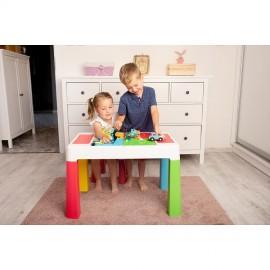 62a2cdd2e6ef Stôl so stoličkou Tega Baby Multifun Multicolor