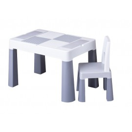 Stôl so stoličkou Tega Baby Multifun Sivá