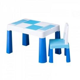 Stôl so stoličkou Tega Baby Multifun Modrá