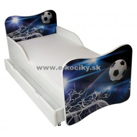 Amila Detská posteľ Futbalka 140x70cm + matrac ZDARMA!