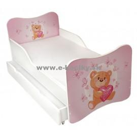 Amila Detská posteľ Medvedík 160x80cm + matrac ZDARMA!