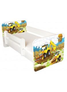 Amila Detská posteľ Tobi Bager 140x70 cm s matracom