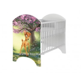 Detská postieľka Disney Bambi Natural
