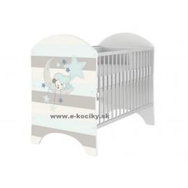 Detská postieľka Disney Mickey Mouse Baby