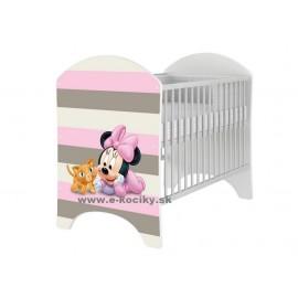 Detská postieľka Disney Minnie Mouse Baby