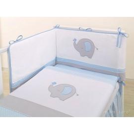 Mamo Tato 3 dielna bielizeň Sloník modrá