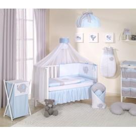 Mamo Tato 5 dielna bielizeň s moskytierou Sloník modrá