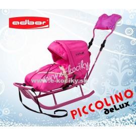 Sánky Adbor Piccolino De Luxe Ružové