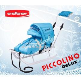 Sánky Adbor Piccolino De Luxe Modré
