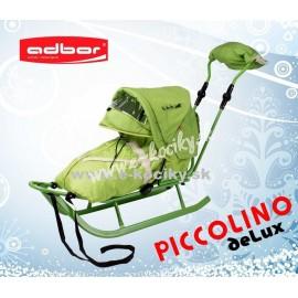 Sánky Adbor Piccolino De Luxe Zelené