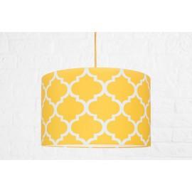 Textilná závesná lampa Maroko