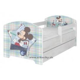 Detská posteľ Disney Mickey Mouse 160x80 cm s matracom
