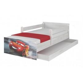Detská posteľ Disney Max Cars 3 McQueen 160x80 cm