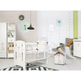 Detská izba Klups Safari Žirafa Biela