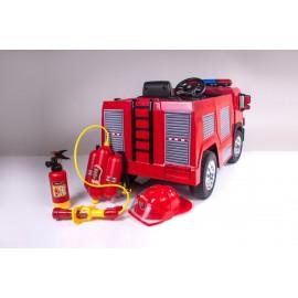 Elektrické hasičské auto so sirénou Ramiz