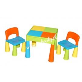 Tega Baby Mamut stolček a dve stoličky Multicolor