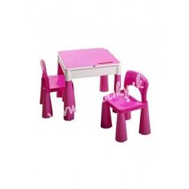 Tega Baby Mamut stolček a dve stoličky Ružová