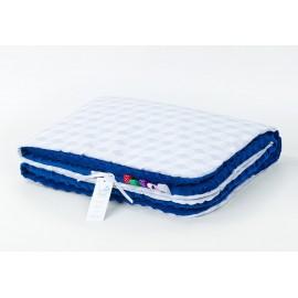 Mamo Tato deka Minky Rumba sivá/modrá