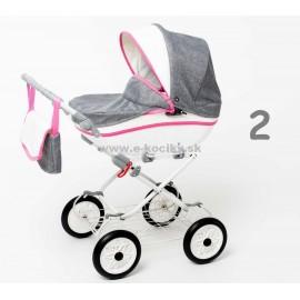 Kočík pre bábiky Maja Eco